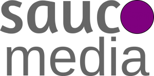 saucomedia logo grey