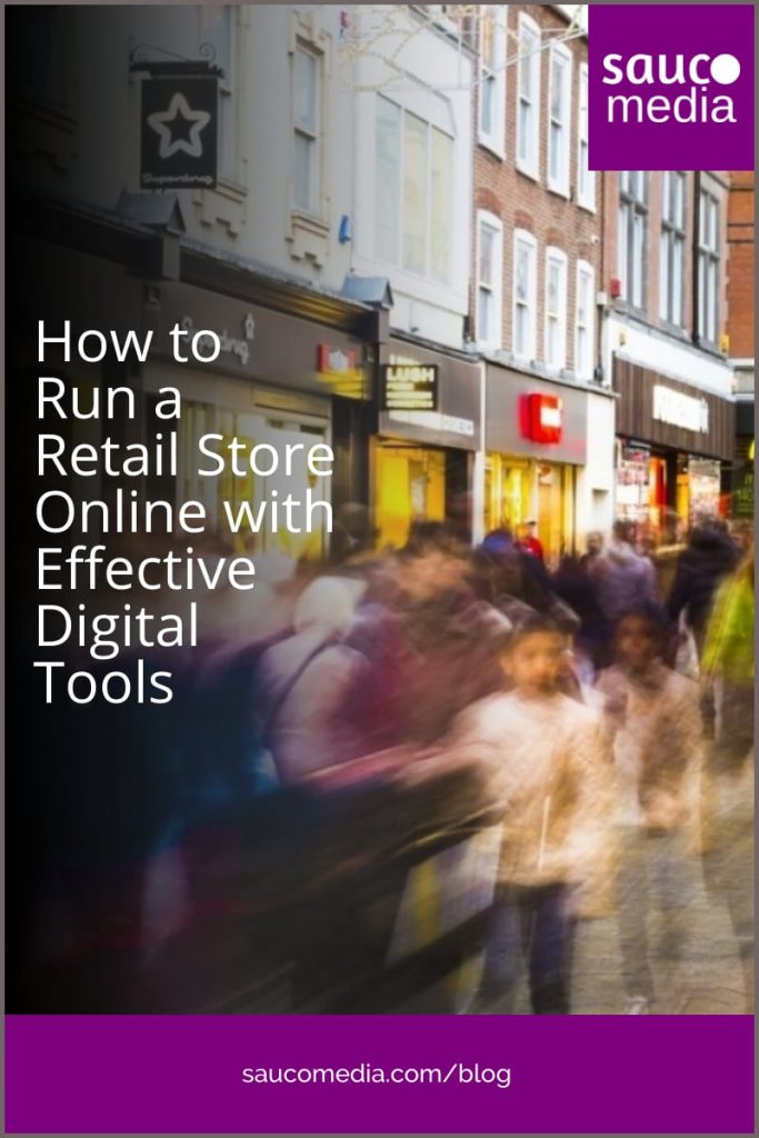 How to Run a Retail Store Online with Digital Tools