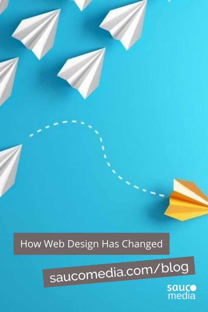 web design has changed for social medias